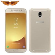 Оригинальный разблокированный сотовый телефон Samsung Galaxy J7 Pro J730F, экран 5,5 дюйма, Восьмиядерный, 3 ГБ ОЗУ 16 Гб ПЗУ, LTE камера 13 МП, две SIM-карты, 1080P