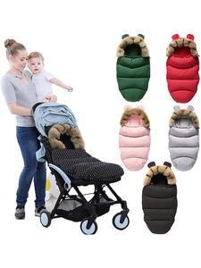 Sleepsacks Footmuff Wheelchair Soft-Sleeping-Bag Baby Stroller Winter-Out Envelopes Fleece