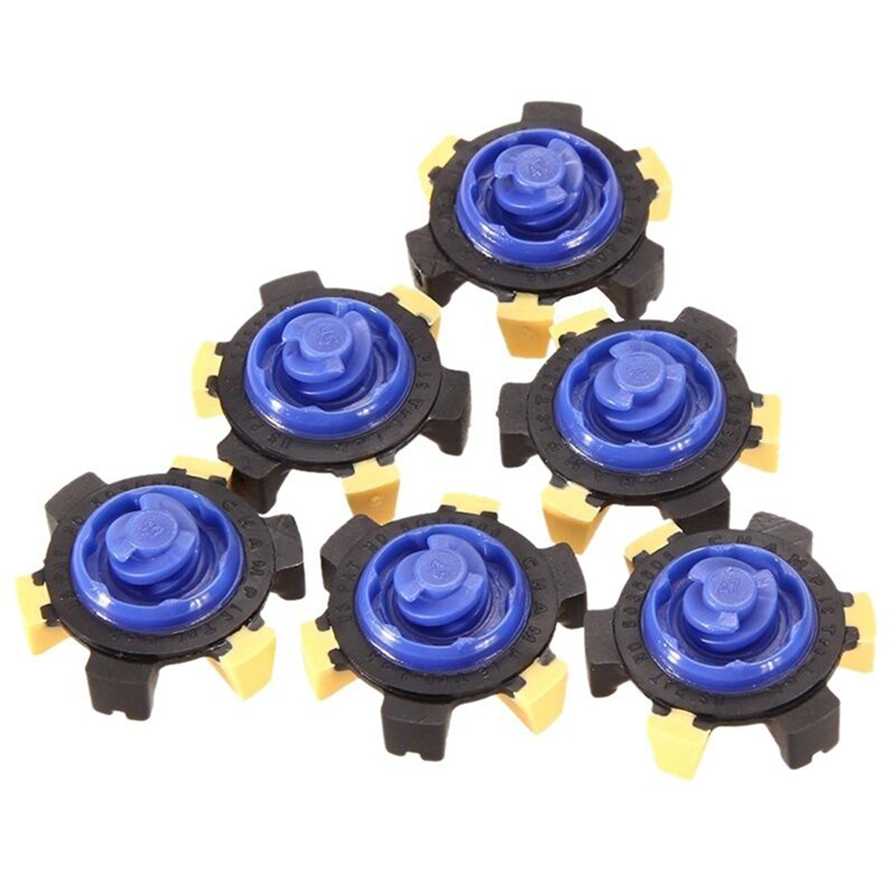 14pcs Golf Spikes Pins Turn Fast Twist Shoe Spikes Durable Replacement Set Ultra Thin Cleats Pins Golf Shoes Parts Spikes Set