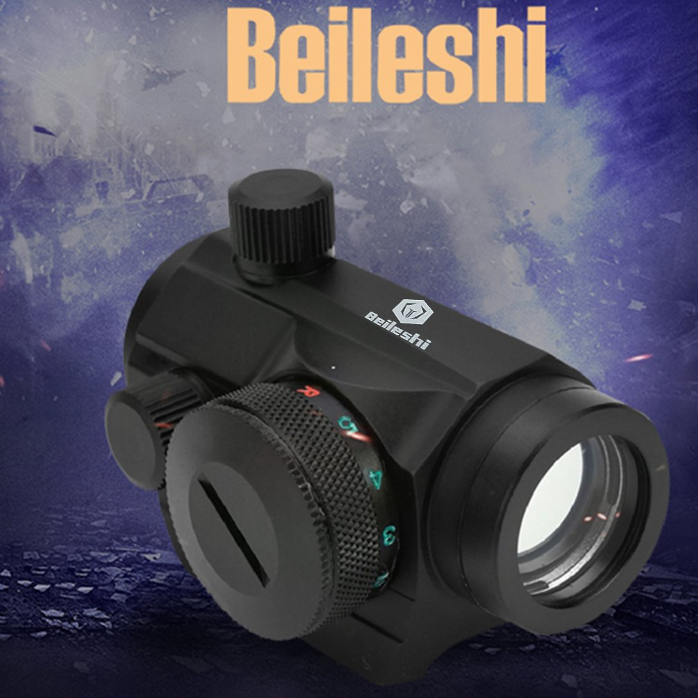 2019 HOT Tactical Mini Micro RedDot Scope Sight With QD Quick Riser Mount Quick Detach Red Dot Sight