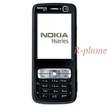 オリジナルノキア N73 携帯電話 3 グラム gsm bluetooth 3.15MP ロック解除 N73 改装 & 英語アラビアロシアキーボード