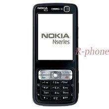 Original nokia n73 telefone móvel 3g gsm bluetooth 3.15mp desbloqueado n73 remodelado & inglês árabe russo teclado