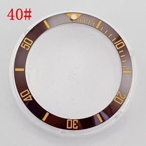 Image 5 - שעון אביזרי 38mm לוח fit אוטומטי 40mm גברים של שעון כושר לוח parnis שעונים