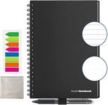 NEWYES A5 B5 Smart riutilizzabile cancellabile Notebook carta microonde Wave Cloud Notepad foderato con penna Dropshipping personalizza regalo per bambini