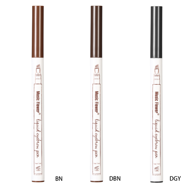 1 PCS 4 Arrow Heads Microblading Liquid Eyebrow Pencil Waterproof Sharp Tips Eye Brow Pencils Eye Liner Beauty Makeup Tools 2