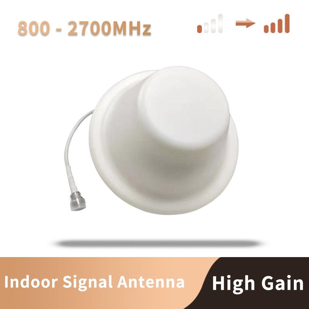 4G 3G 2G LTE WCDMA GSM 800 900 1800 2100 2600 Mhz Antenna GSM Ceiling Antenna For Mobile Signal Booster Repeater Or Amplifier