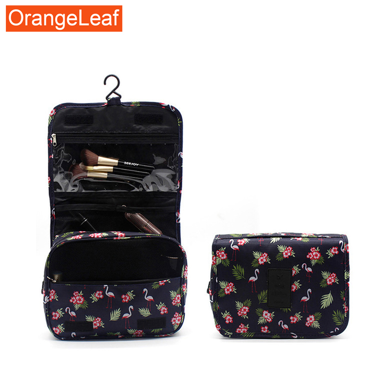 Portable Travel Hook Multifunction Makeup Bag Large Capacity Storage Bag Waterproof Wash Cosmetic Bag Fashion Travel Accessories