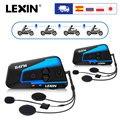 2 шт. Lexin B4FM 4 способа Bluetooth мотоциклетный шлем домофон гарнитуры  беспроводные cascos intercomunicadores moto music