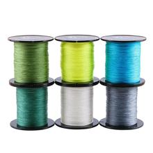 300M Braided Fishing Line 4 Strands PE Line Multifilament Saltwater Freshwater 12-80LB Smooth Floating Wire 300m fishing line braided line smooth multifilament 4 strands pe fishing line for saltwater fishing