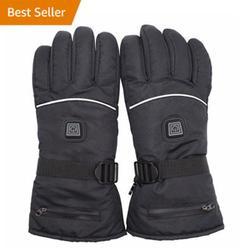 Rękawice rozgrzewające elektrycznie podgrzewane rękawice rękawice elektryczne rękawice rozgrzewające Outdoor Professional Fashion Portable w Rękawiczki od Samochody i motocykle na