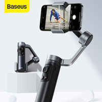 Baseus Bluetooth Selfie Stick stabilizzatore per fotocamera cardanica palmare a 3 assi supporto per telefono pieghevole per iPhone 12 Pro Xiaomi Huawei P30