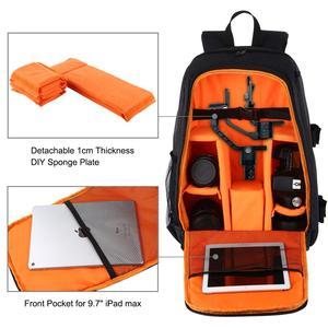 Image 2 - PULUZ กลางแจ้งแบบพกพากันน้ำ Scratch proof Dual Shoulders กระเป๋าเป้สะพายหลังอุปกรณ์เสริมกระเป๋ากล้องดิจิตอล DSLR Photo Video กระเป๋า