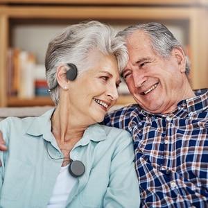 Image 5 - BN802 Bone Conduction earphone old man headset sports built in battery sound amplifier Hearing Aid headphone
