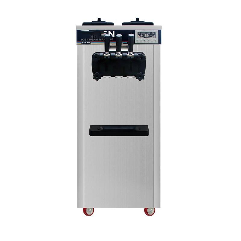 MK-618CB New Practical Multi-flavor Ice Cream Machine Commercial  Cream Machine Sundae Machine Advanced Refrigeration Technology