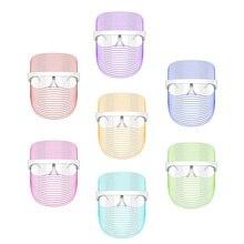 Wakeforyou 7 Colors Mask Led Mask Beauty Instrument Photon Skin Rejuvenation Mask Led Spectrometer Color Beauty Mask Instrument