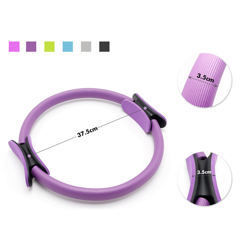 Quality Yoga Circle Fitness Sport Dual Grip Pilates Magic Ring Training Home Gym Workout Yoga accessories