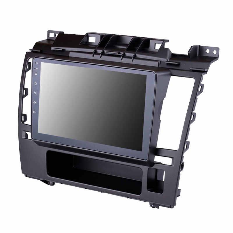 Convient pour Nissan Tiida 2005 2010 voiture GPS Bluetooth Radio Android 8.1 4-core CPU 2.5D trempé anti-déflagrant HD unité de tête d'écran
