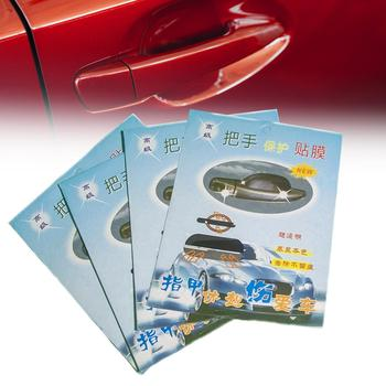 4Pcs/Set Car Door Handle Protection Films Universal Auto Anti Scratch Stickers Car Accessories image
