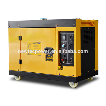 Air cooled small diesel genset 12kw 15kva silent type diesel generator with 2V92 engine