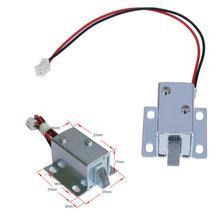 Drawer-Lock Electromagnetic Small Mini Home DC Improvement Intelligent 6/12V