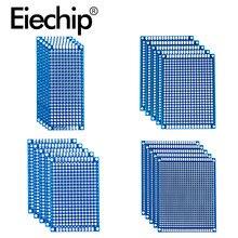 Arduino – Prototype de carte PCB universelle à souder de double face bleu, 5x 7, 4x 6, 3x 7, 2x 8,