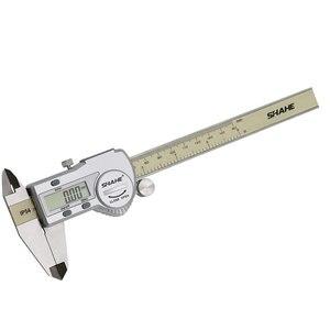 Image 5 - shahe calipers 0 150 mm vernier caliper micrometer gauge IP54 Digital Vernier Caliper Measuring tool 0.01 Digital caliper