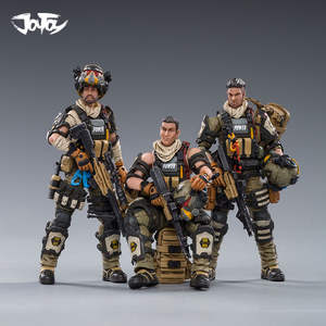 Soldier Figure Military JOYTOY 1/18 Model-Toys PARATROOPER HELL SKULL SQUAD