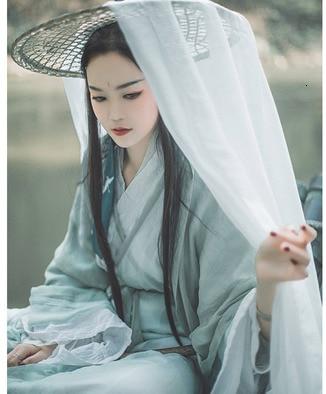 Antique Cosplay Hat Ancient Costume Hanfu Cos Hats Photo Fence Cover Veil Swordswomen Hat Head Umbrella