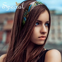 Special Fashion Crystal Headbands Comfortable Hair Accessories European Style Hairwear Jewelry Gifts for Women S1785H