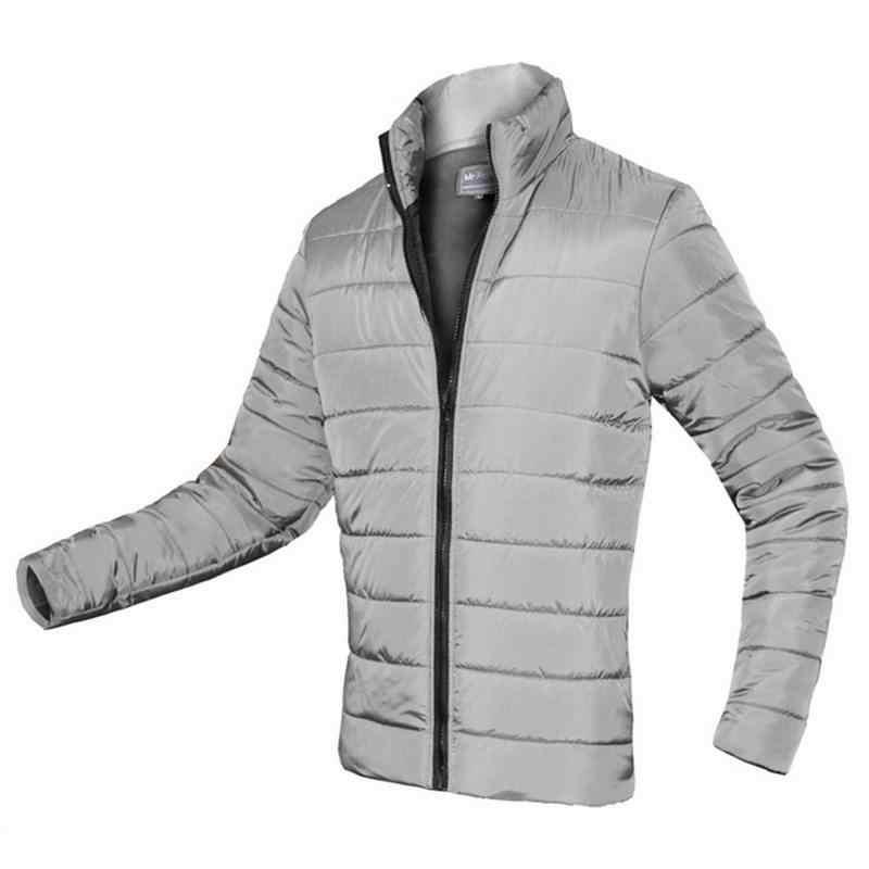2019 新冬ジャケットの男性綿 100% パッド入りパーカー厚手ジッパースリム男性コート生き抜く暖かい男性のオーバーコート