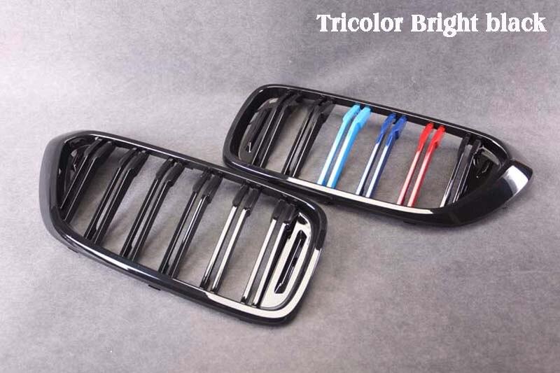 Dubbele Lijn Heldere Zwarte Drie Kleur Carbon Fiber Abs Nieren Voor Bmw G32 6GT - 3