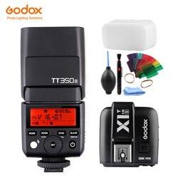 Godox Mini Speedlite TT350S Camera Flash TTL HSS GN36 + X1T-S Transmitter for Sony Mirrorless DSLR Camera A7 A6300 A6500 A7 III