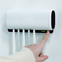 Storage-Box Toothbrush Sanitizer Bathroom Holds Multi-Function