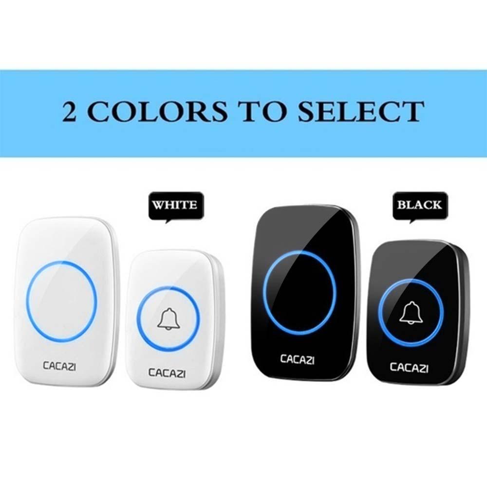 38 Tune Songs Portable Intelligent Wireless Door Bell Wireless Digital Doorbell Music Doorbell Home Security Office Hardware