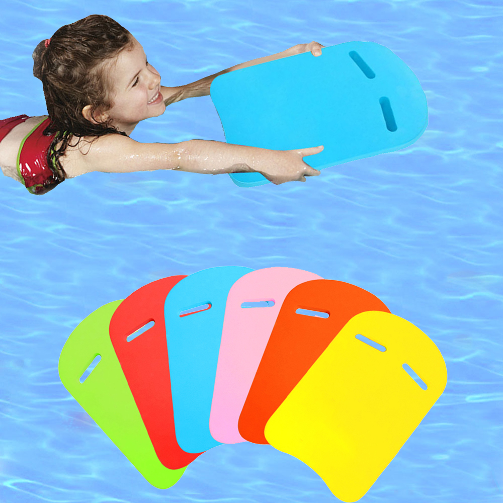 Swimming Float Board For Kids Swimming Training EVA Safety Swimming Pool Board Aid Back Plate Board Adult Kickboard Accessories