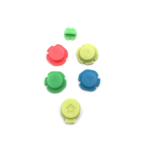 Image 2 - Colorful ABXY Directions Keys Buttons Joystick for Nintendo Switch NS NX Controller Joy con Left Right Controller