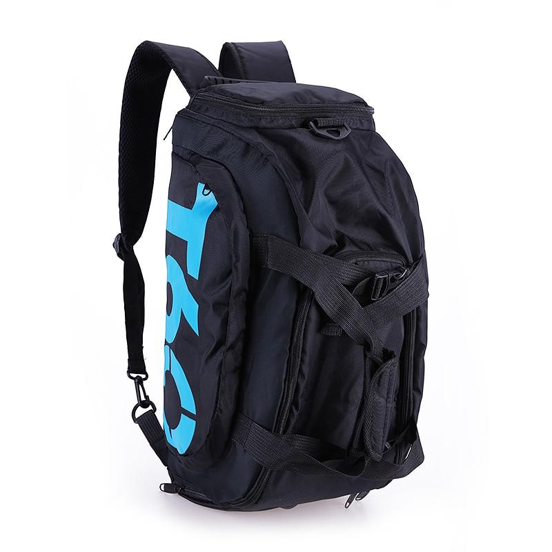 Waterproof Gym Sports Bag Men Women Molle Fitness Training Backpacks Multifunctional Travel Luggage Bolsa Shoulder Handbag in Climbing Bags from Sports Entertainment