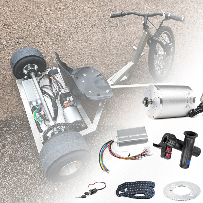 Electric Bike Ebike 1000W Motor Controller Bag Case Box Large DIY Kit