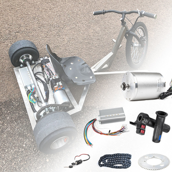 Electric Scooter Kit Electric Bike Conversion Kit 3000w 48V-72V Electric Motor for Skateboard Ebike Motor Controller 50A Go Kart ebike 72v brushless motor controller bike 45a 18mosfet with regenerative function for electric bicycle