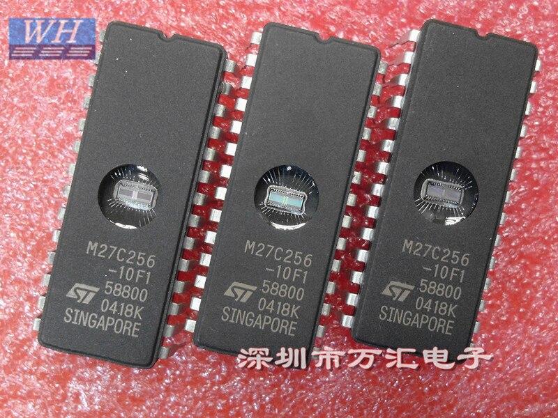5 шт. 10 шт. M27C256-10F1 M27C256B-10F1 M27C256 27C256 CDIP28 IC EPROM UV 256KBIT 100NS чипы памяти лучшее качество