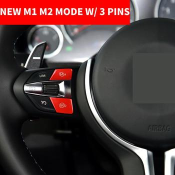 Car Styling Steering Wheel M1 M2 Mode Button Switch Cover For BMW M2 F87 M4 F82 M5 F10 M6 X5M X6M F20 F30 F32 F07 X5 F15 X6 F16 image