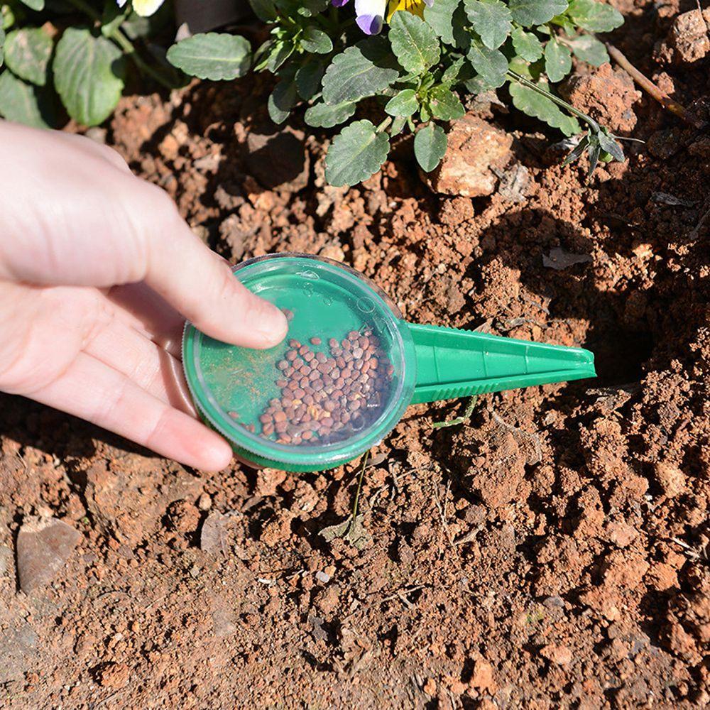 5 настраиваемых размеров сеялка ручной цветок трава сеялка мини удобный садовый сеялка Диспенсер Инструмент|Разбрасыватели семян|   | АлиЭкспресс