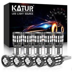 10x T10 LED Canbus Bulbs W5W 194 168 No Error LED Car Interior Light for Polo Golf 4 5 6 7 GTI Passat B6 B5 JETTA MK5(China)