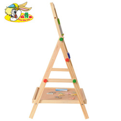 Youdele Children Double-Sided Magnetic Medium Blackboard Sketchpad Baby Wooden Multi-functional Braced Writing Board 1.6