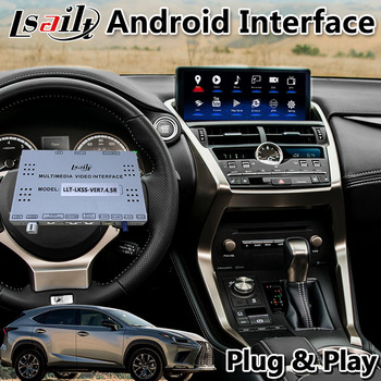 Android Video Interface GPS Navigation System for Lexus NX300 NX200t NX300H 2017-2020 Support Add Wireless Carplay image