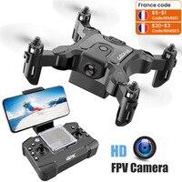 Mini Drone a/Zonder Hd Cámara Me sigue Rc helicóptero alta espera Modus Rc Quadcopter Rtf Wifi Fpv drones RC de juguete para los niños