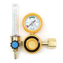 Medidor de flujo de argón CO2 de 0-25Mpa, medidor de flujo de Gas, medidor de soldadura, regulador de argón, reductor de presión de oxígeno