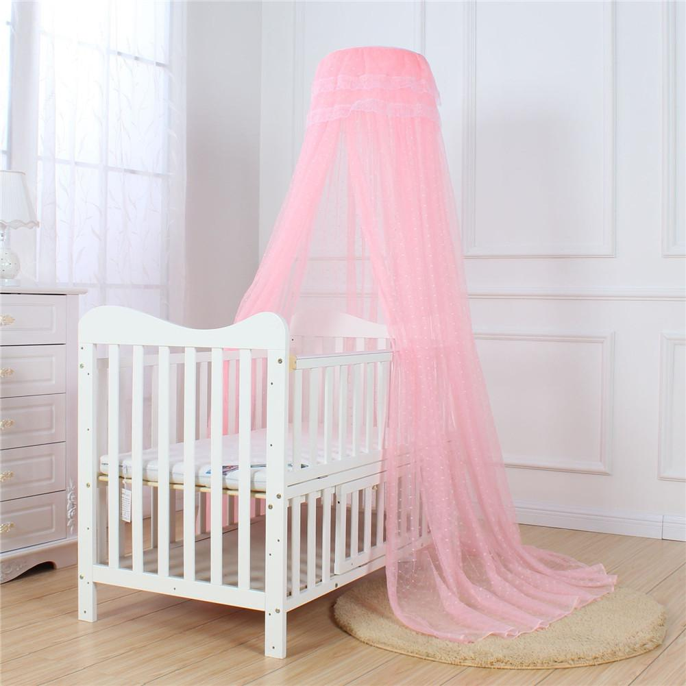 Kidlove Baby Summer Universial Crib Mosquito Net For Infants Portable Cot Folding Canopy Netting Protector Without Bracket