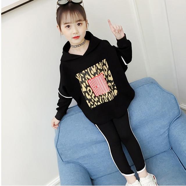 Boutique kids clothing Autumn spring girls set long sleeve tops +pants 2pieces tracksuit Children clothes outfit tracksuit 3