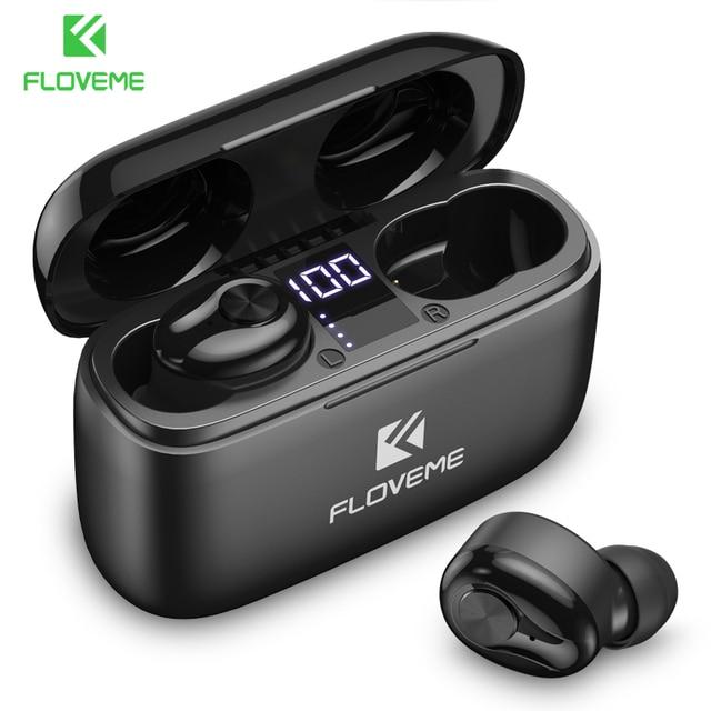 FLOVEME nowe słuchawki TWS 5.0 bezprzewodowe słuchawki Bluetooth dla iPhone 12 Max 11 8 XR Xiaomi 10 Pro Mi słuchawki douszne słuchawki douszne